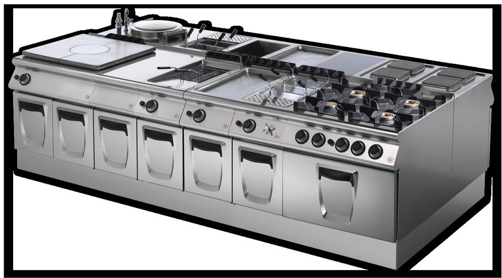 Kitchen equipment sycro distribution for Cuisine 3d dwg