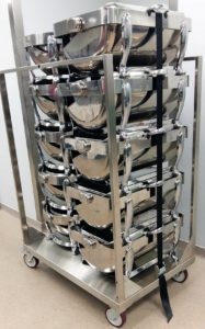 10 Chafer stacking trolley
