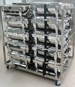 20 Chafer stacking trolley