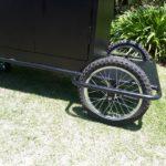 rough terrain housekeeping trolley