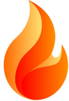 Sycro Distribution Flame logo