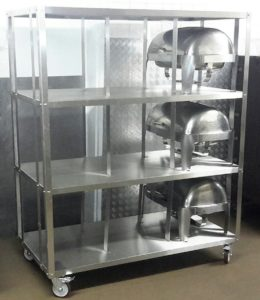 Non-Stacking Chafing Dish Trolley