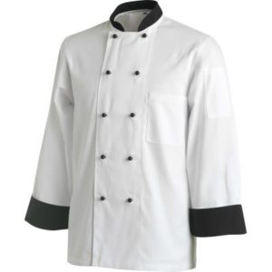 Contrast Chefs Jackets- Long
