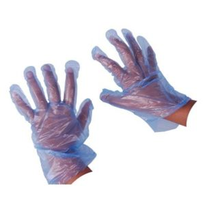 Disposable (gloves, aprons, hats)