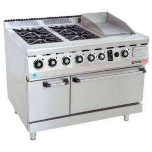 Gas Stove + Oven