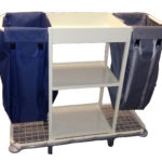 hospitality housekeeping trolley