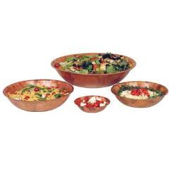 Wood Salad Bowls