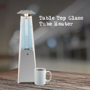 gas table top heater