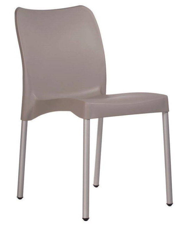 plastic cafe chair